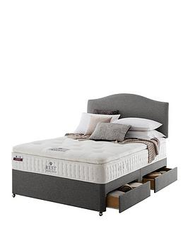 Rest Assured Rest Assured Richborough Latex Pillowtop Divan Bed With  ... Picture