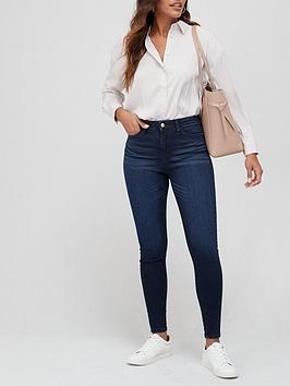 V by Very V By Very Florence High Rise Skinny Jean - Ink Picture