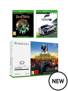 xbox-one-s-1tb-console-and-playerunknown039s-battlegrounds-sea-of-thieves-forza-7-wireless-controller-and-12-months-live