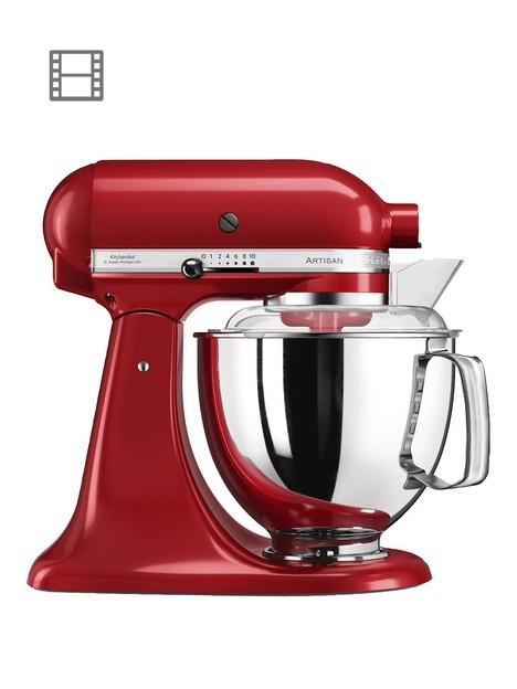 kitchenaid-artisan-48-litre-tilt-head-stand-mixer-red