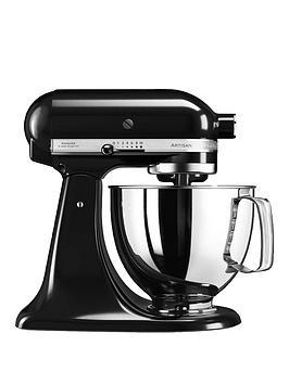 kitchenaid-artisan-48-litre-tilt-head-stand-mixer-black