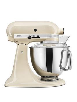 kitchenaid-artisan-48-litre-tilt-head-stand-mixer-cream