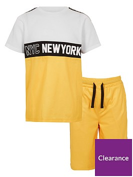 river-island-boys-yellow-lsquonycrsquo-mesh-t-shirt-outfit