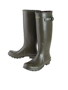 barbour-bede-wellington-boot-olive
