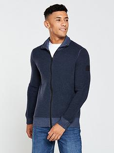 boss-zip-front-cardigan-navy