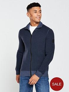 boss-zip-front-cardigan-navy
