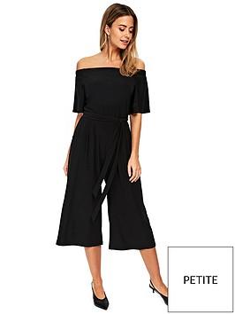 wallis-wallis-petite-bardot-culotte-jumpsuit-blacknbsp