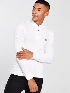boss-casual-long-sleeve-slim-fit-polo-shirt-white