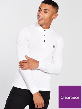 boss-casual-long-sleeve-slim-fit-polo-shirt-white