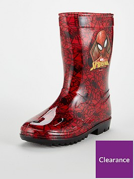 spiderman-wellies