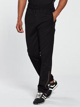 boss-logo-track-pants-black