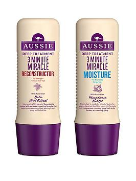 Aussie   3 Minute Miracle Pack