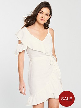 river-island-frill-detail-dress-white