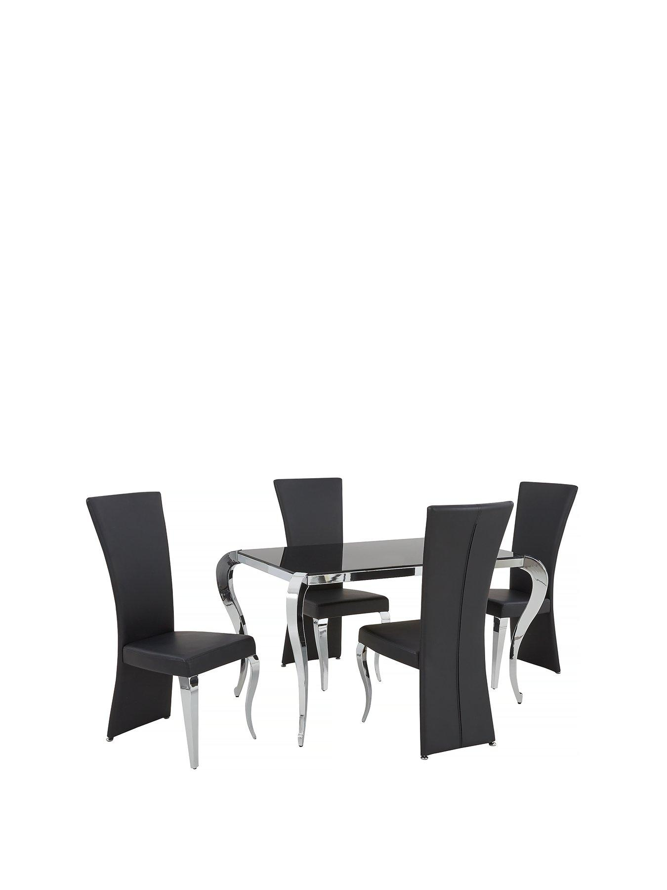 dining table and chairs marble boutique 139 cm glass dining table chairs chair sets room furniture packages