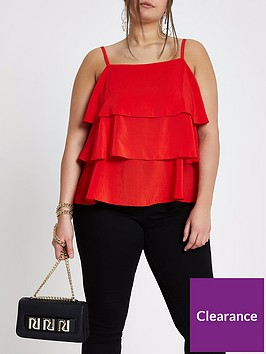 ri-plus-tiered-cami--red