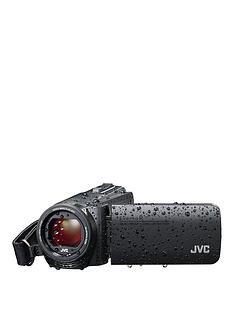 jvc-gz-r495-4gbnbspmemory-hd-quad-proof-10mp-40x-zoom-camcorder-blacknbspincluding-free-case-for-limited-time-only
