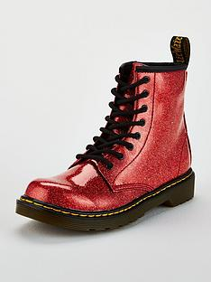 dr-martens-girls-glitter-lace-boot-red