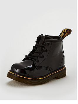 dr-martens-girls-infant-1460-patent-boot-black