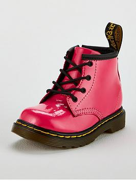 Dr Martens Dr Martens Girls Infant 1460 Patent Boot - Hot Pink Picture