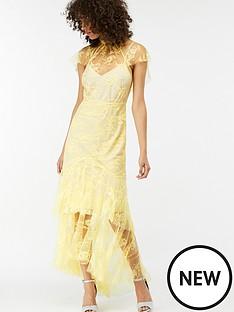 monsoon-lemon-lace-ruffle-dress