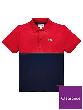 lacoste-sports-boys-short-sleeve-colourblock-polo