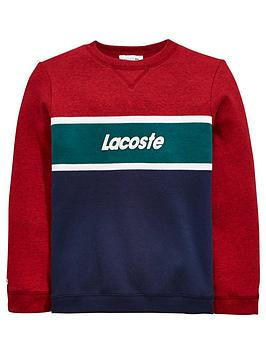lacoste-boys-colourblock-logo-sweat-top