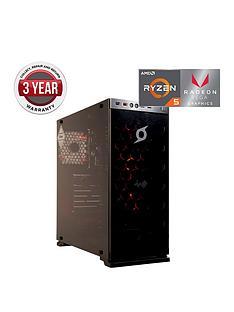 zoostorm-stormforce-onyx-amd-ryzen-5-processornbsp8gbnbspramnbsp1tbnbsphard-drive-gaming-pc-withnbspamd-veganbspgraphicsnbsp