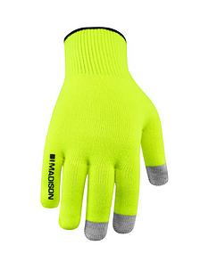 madison-isoler-merino-cycle-gloves-hi-viz-yellow