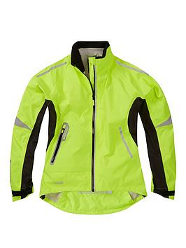 MADISON  Madison Stellar Women'S Waterproof Cycle Jacket - Hi-Viz Yellow