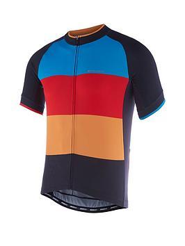 madison-peloton-mens-short-sleeve-cycle-jersey-black-colour-blocks