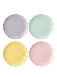 sophie-conran-for-portmeirion-colour-pop-105-inch-coupe-plates-ndash-set-of-4