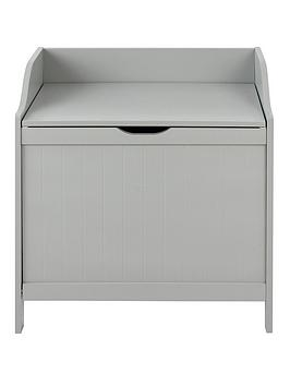 Lloyd Pascal Lloyd Pascal Portland Laundry Hamper - Grey Picture