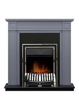 adam-fire-surrounds-georgian-fireplace-suite-in-grey-and-black-with-elan-chrome-electric-fire