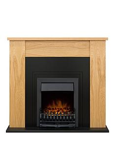 adam-fire-surrounds-new-england-fireplace-in-oak-with-cast-effect-back-panel-amp-blenheim-black-electric-fire