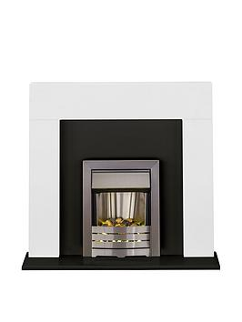 adam-fire-surrounds-miami-fireplace-suite-in-white-and-black-with-helios-brushed-steel-electric-fire