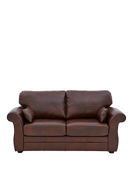 Very Vantage Italian Leather Sofa Bed Picture