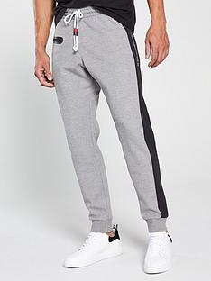 champion-colour-block-joggers-grey-marl