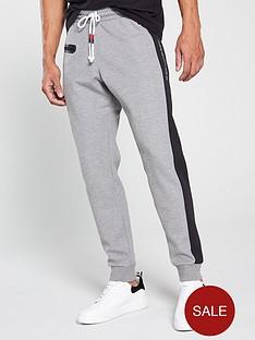 champion-colour-block-joggers-grey-marl