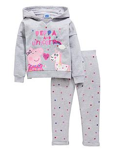 peppa-pig-unicorn-hooded-jog-set-grey