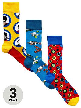 happy-socks-3pk-the-beatles-socks