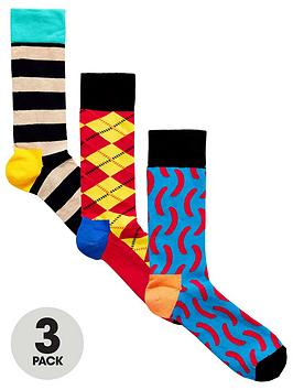 happy-socks-hs-by-happy-socks-3pk-socks