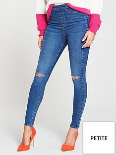 v-by-very-short-charleynbsphigh-waistednbspsuper-skinny-rip-jean
