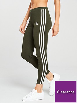 adidas-originals-3-stripe-tight-khakinbsp