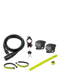 cycle-coil-cable-lock-reflective-accessories
