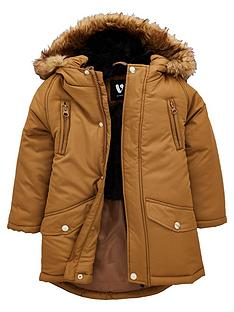 mini-v-by-very-faux-fur-lined-tan-parker-with-faux-fur-trim-hood