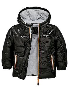8e9886e87f21 Mini V by Very Padded Coat - Black
