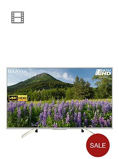 sony-kd49xf7073-49-inch-4k-hdr-ultra-hd-smart-tv-with-freeview-play-silver