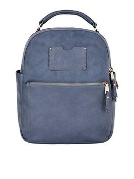 accessorize-dome-backpack-blue
