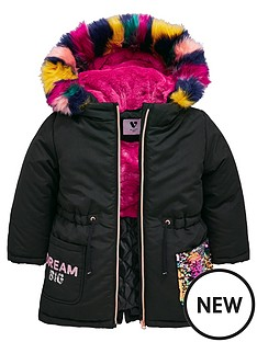 mini-v-by-very-rainbow-sequin-multi-faux-fur-parka