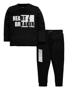 mini-v-by-very-boys-rule-breaker-3d-effect-sweatshirt-and-jogger-set-black